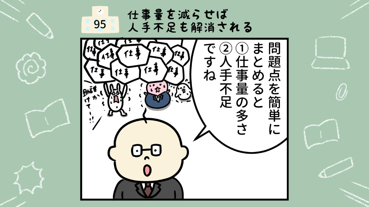 学校の問題点 漫画