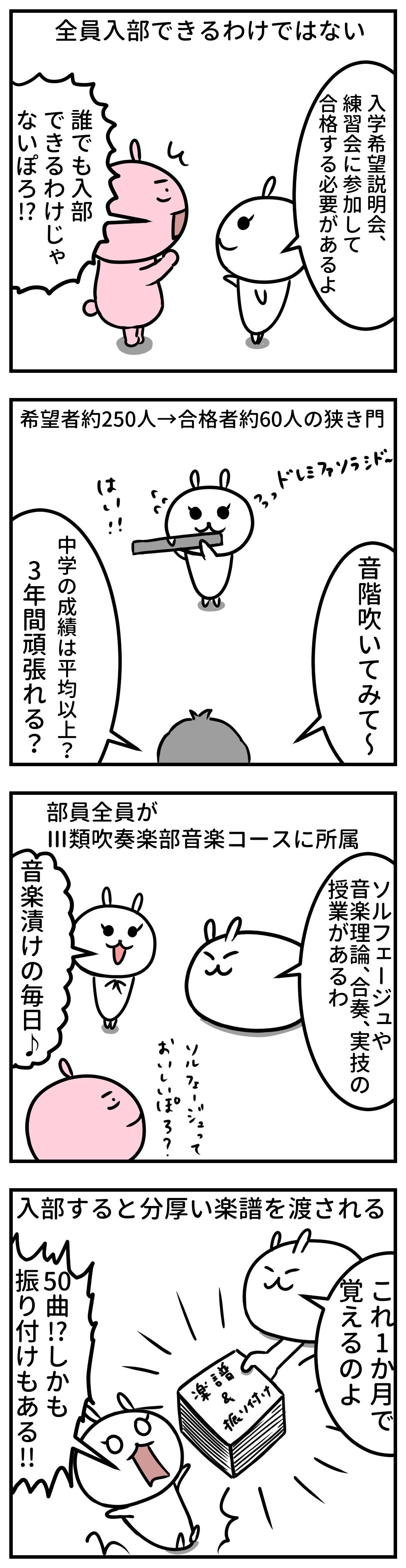 大阪桐蔭高校 イラスト 吹奏楽部 入部条件
