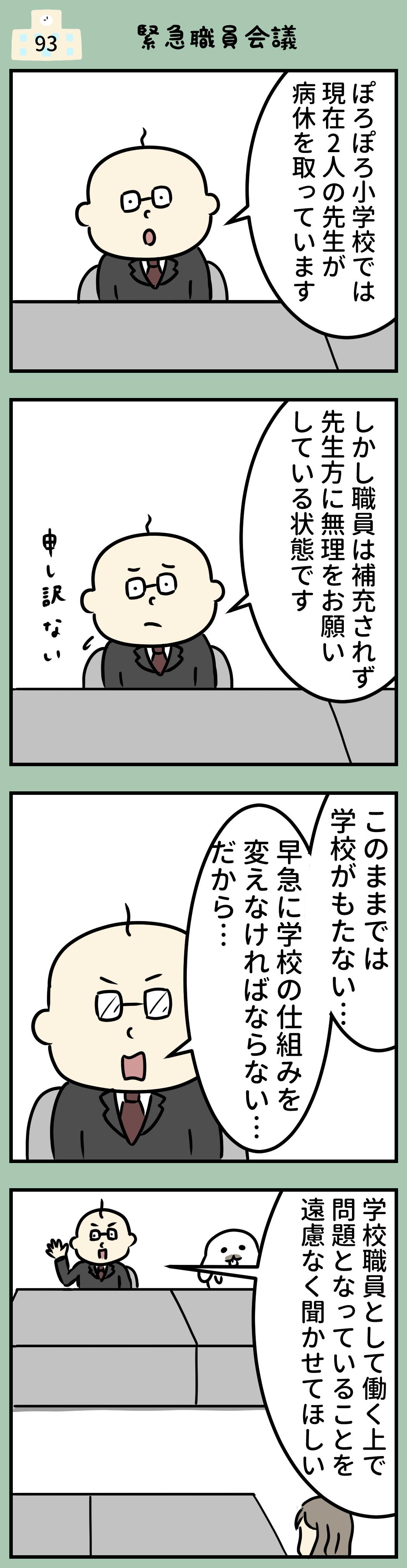 小学校 職員会議
